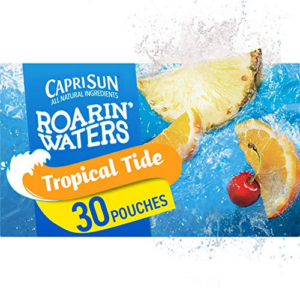 Capri Sun Roarin' Waters Tropical Fruit, 30 Pouches Now .14 (Was .48)