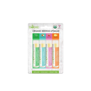 USDA Organic Flavored Beeswax Lip Balms 4 Tubes Eucalyptus Mint Now .65 (Was .95)
