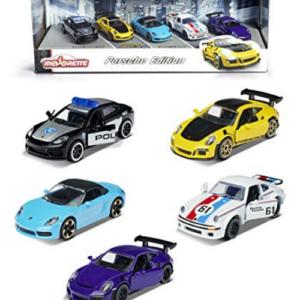 Majorette 1:64 Porsche Edition 5-Pack Die-cast Cars Now .99 (Was .99)