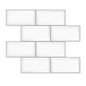 Art3d Peel and Stick Subway Tile Now .99 (Was .99)