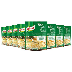 Knorr Rice Side Dish, Herb & Butter, 5.4 oz, Pack of 8 Now .39 (Was .52)