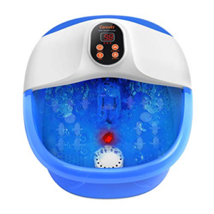 Carevas Foot Spa Massager, Heated Foot Bath Now .59 (Was .99)