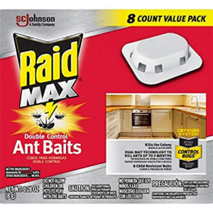 Raid Max Double Control Ant Baits, 0.28 oz, 8 CT  Now .18 (Was .68)