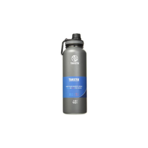 Takeya Stainless-Steel Water Bottle, 40oz, Graphite Now .70 (Was .99)