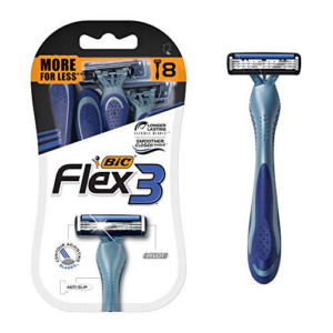 BIC Flex 3 Titanium Men's Disposable Razor Now .54 (Was .98)