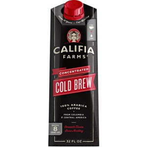 Califia Farms Black Unsweetened Concentrated Cold Brew Coffee Now .35 (Was .99)