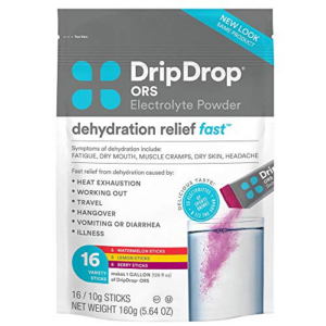 DripDrop ORS Electrolyte Powder For Dehydration Now .30 (Was .02)