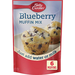 Betty Crocker Blueberry Muffin Mix, 9 Pack, 6.5 oz Now .33 (Was .00)