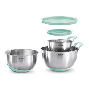 Dash Stainless Steel Mixing Bowl Set Now .00 (Was .99)