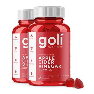 Apple Cider Vinegar Gummy Vitamins by Goli Nutrition 120 Count Now .68 (Was .00)