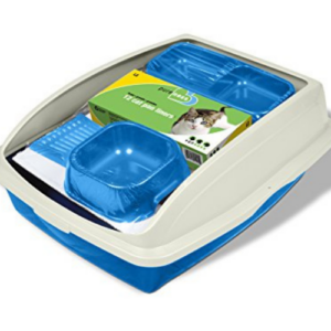 Van Ness Cat Starter Kit, Assorted Colors Blue, Large Now .53 (Was .89)
