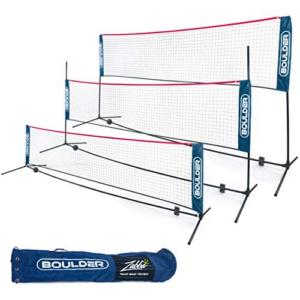 Boulder Portable Badminton Net Set Now .99 (Was .99)