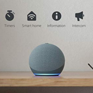 All-new Echo Dot 4th Gen Blue Now .99 (Was .99)