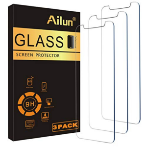 Ailun Glass Screen Protector Compatible for iPhone Now .01 (Was .99)
