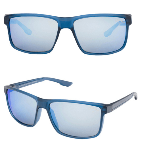 Callaway Polarized Matte Navy Crystal Square w/ Mirror Lens  Shipped