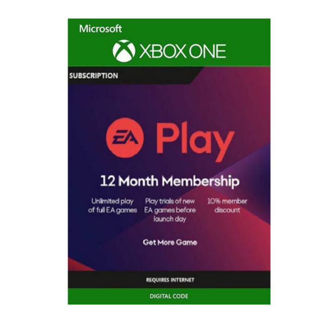 12-Months EA Play Subscription Xbox Live Key GLOBAL Only .04