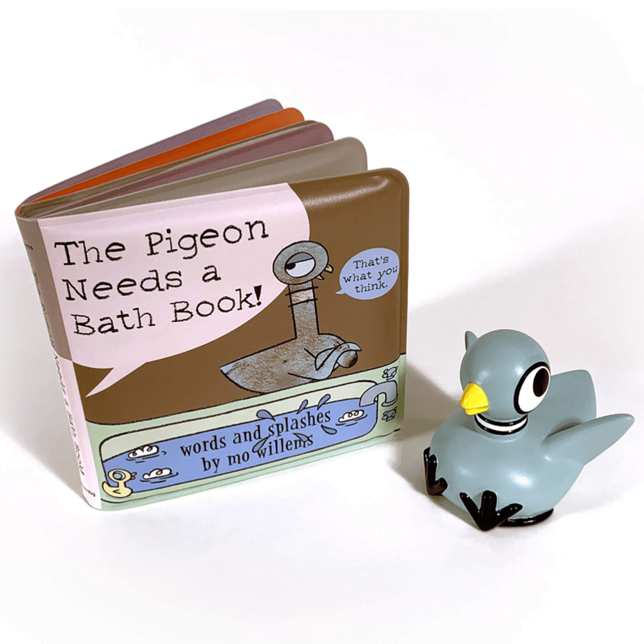 The Pigeon Needs a Bath Book with Pigeon Bath Toy! Now .49