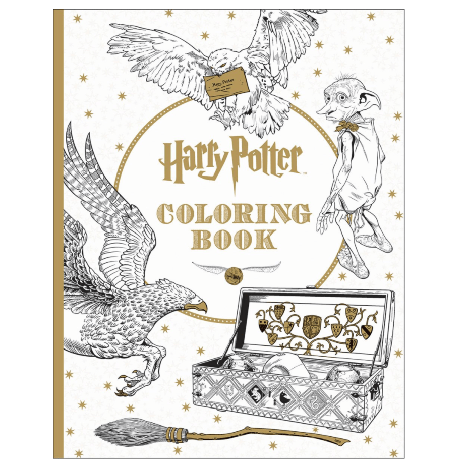 Harry Potter Coloring Book Now .99 (Was .99)