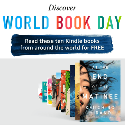 Free Kindle Books for World Book Day on Amazon