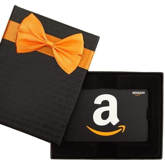 Free $10 Amazon Credit w/$100 Amazon Gift Card Purchase