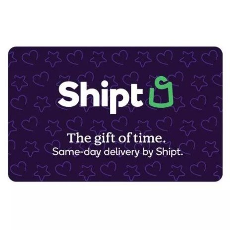 HURRY!!!!  Shipt Giftcard +  Target Gift Card Only