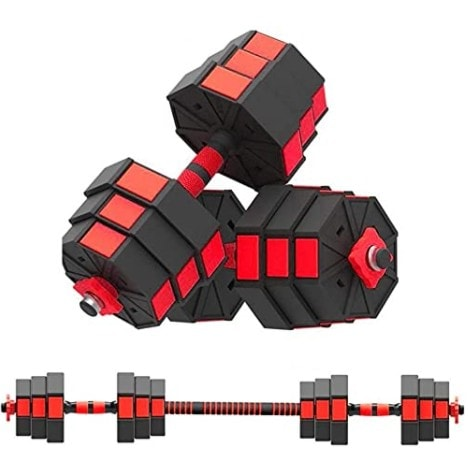 perfectbot 44LBS Adjustable Dumbbell Weights Dumbbells Set Now .99