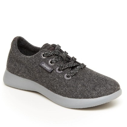 JSport Womens Arrow Lace Up Sneakers Casual Sneakers Only .99