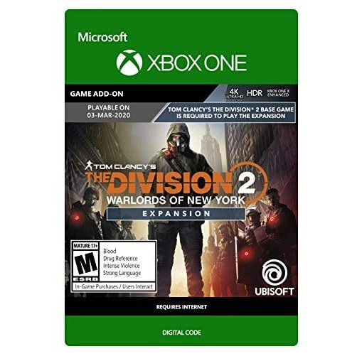 Tom Clancy's The Division 2: Warlords of New York Expansion Xbox One Now .00