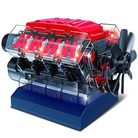Playz V8 Combustion Engine Model Building Kit Now .45 (Was .95)