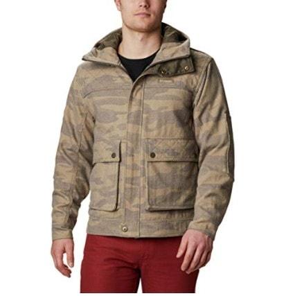 Columbia Men's Brown Gallatin Camo Jacket Now .38 (Was 0)