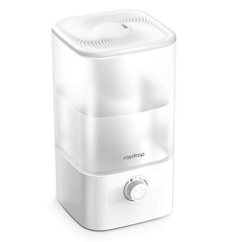 raydrop Cool Mist Humidifier, 2.5L Essential Oil Diffuser Now .49