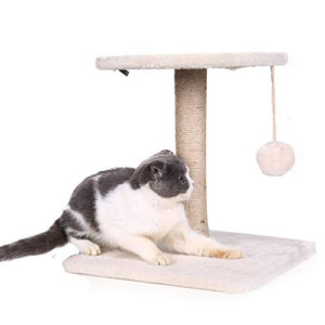 PINA Cat Tree with Sisal-Covered Scratching Posts Now .11 (Was .99)