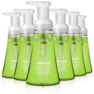 Method Foaming Hand Soap, Green Tea + Aloe, 10 Fl Oz (Pack of 6) Now .75  (Was .00)