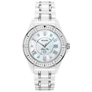 Bulova Women's Marine Star Quartz Watch Now 0.00 (Was 5.00)