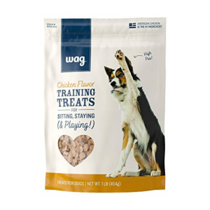 Amazon Brand Wag Chicken Flavor Treats for Dogs, 1 lb. Bag Now .79 (Was .99)
