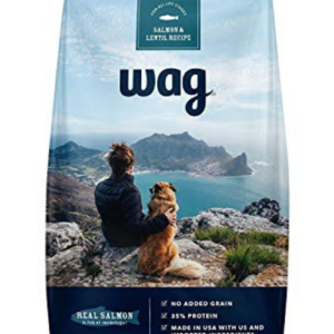 Wag Dry Dog Food Salmon and Lentil Recipe 5 lb. Bag Now .79 (Was .88)