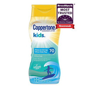 Coppertone KIDS Sunscreen Lotion Broad Spectrum SPF 70 Now .68  (Was .99)