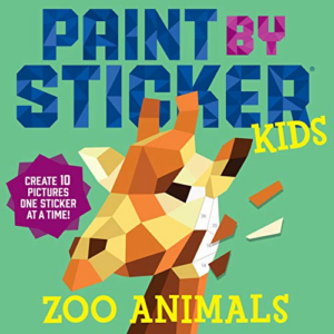 Paint by Sticker Kids: Zoo Animal Now .01 (Was .95)