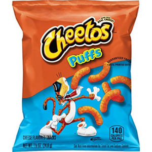 Cheetos Puffs Cheese Flavored Snacks Pack of 40 Now .66 (Was .98)