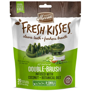 Merrick Fresh Kisses Coconut + Botanical Oils Dental Dog Treats Now .97 (Was .49)