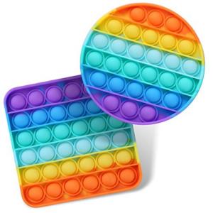 2 Packs Push Bubble Pop Fidget Sensory Toys Now .64 (Was .99)