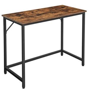 VASAGLE Computer Desk, 39-Inch Writing Desk Now .00 (Was .99)