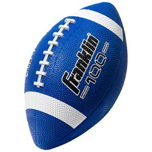 Franklin Sports Grip Rite 100 Rubber Junior Football Now .88 (Was .99)