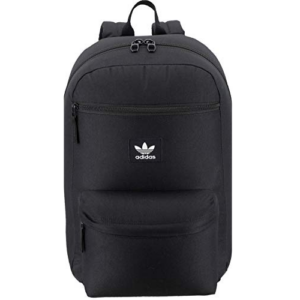 adidas Originals Unisex National Backpack, Black, ONE SIZE Now .60 (Was .00)