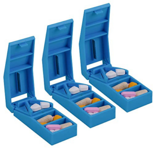 3 Pack Pill Cutter, Splitter, and Divider for Small Pills Now .69 (Was .99)