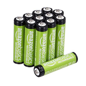 12 Pack AAA 800 mAh Rechargeable Batteries Now .80 (Was .99)