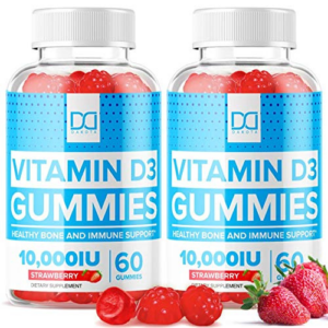 Vegan Vitamin D3 10000 IU Gummies  Now .08 (Was .95)