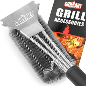 GRILLART Grill Brush and Scraper  Now .57 (Was .97)