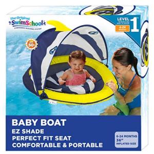 SwimSchool Deluxe Infant Baby Pool Float Now .42 (Was .99)