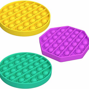 Push Pop Bubble Fidget Toys 3 Pack Now .99 (Was .99)
